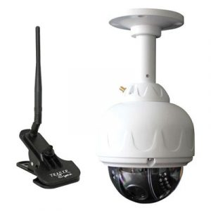 Keep tabs on your horses while hauling with Trailer Eyes WiFi Trailer Cam.