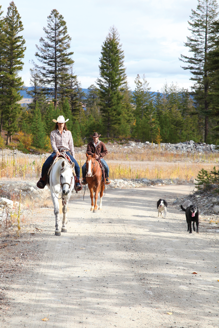 Trail Riding - Equestrians stress less