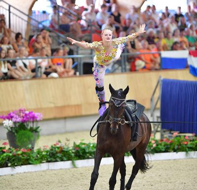 U.S. Equestrian Vaulter of the Year Sydney Schimack