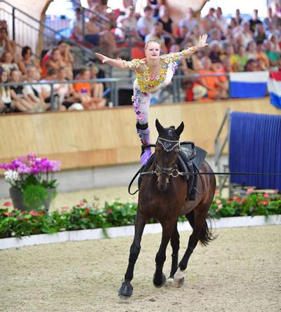 U.S. Equestrian Vaulter of the Year Sydney Schimack