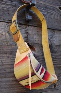 Vintage Serape Fanny Pack - Equestrian Fanny Pack
