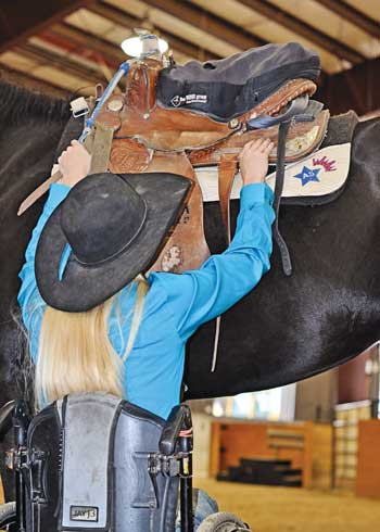 Amberley Snyder stars in a Netflix rodeo movie