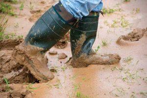 Getting through winter mud