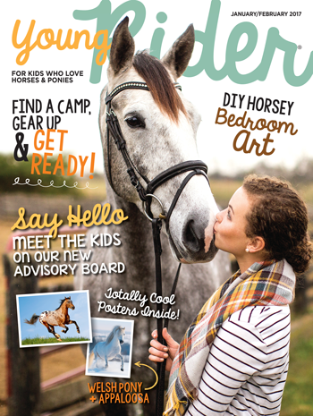 Young Rider January/February 2017 Print Cover