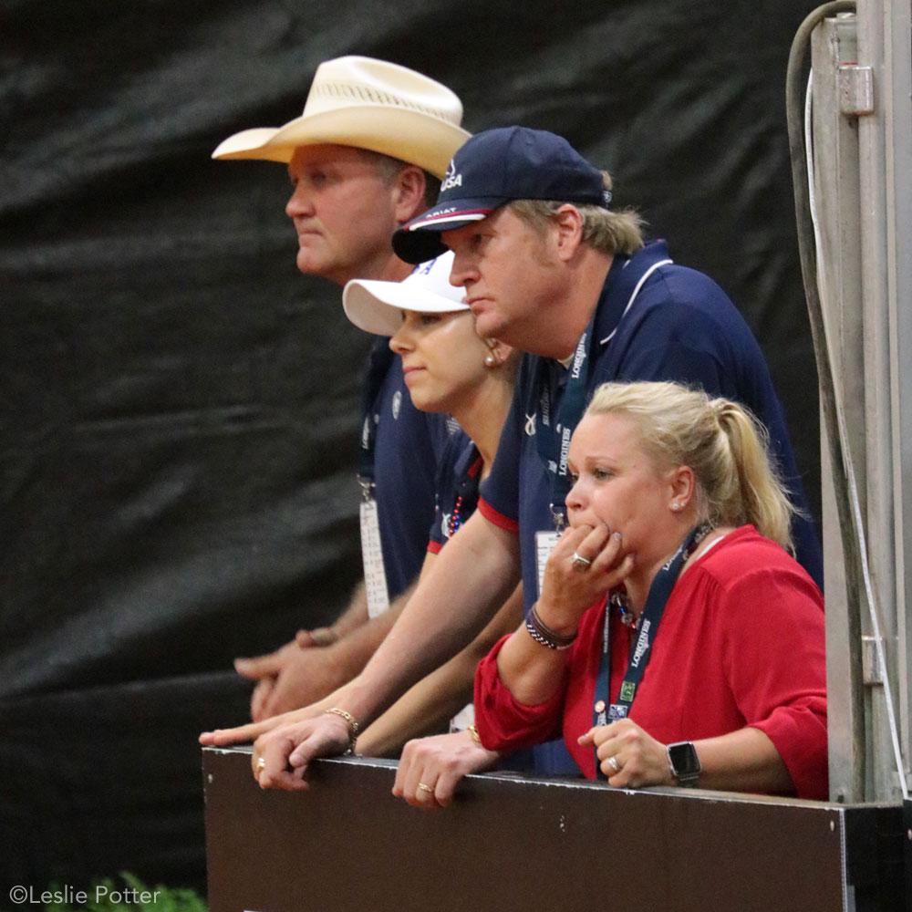 Mandy and Tom McCutcheon 2018 WEG