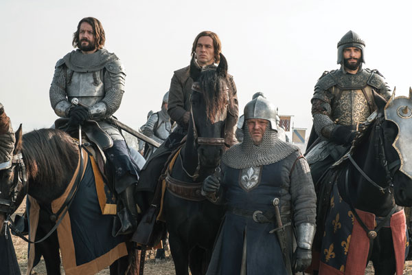 Hollywood Horses from Knightfall