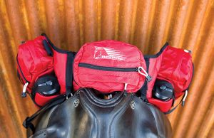 EasyCare Stowaway Pommel Deluxe Saddle Pack Trail Riding Tack and Gear