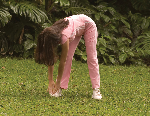 Back Pain Stretch for Horseback Riders