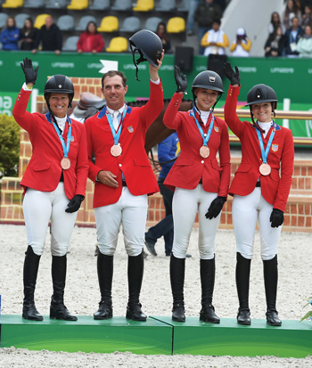 USA Team Bronze at 2019 Pan American Games