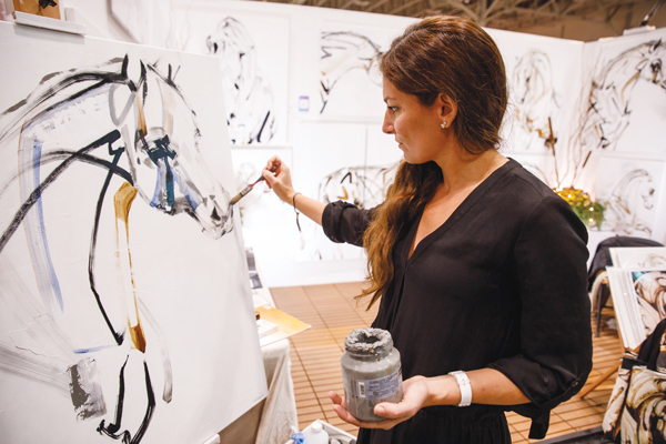 Artist Jessica Potenza