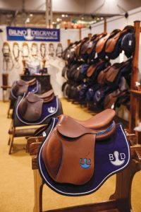 Saddles for Sale at the Bit Chair and Artwork at Boots at Royal Agricultural Winter Fair
