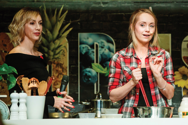 Canadian Royal cooking class with Amber Marshall