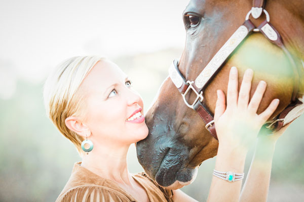 Carly Kade, author and host of Equestrian Author Spotlight podcast