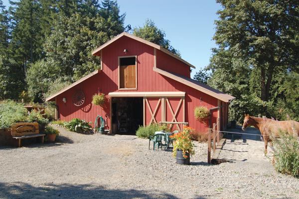 Eco-Friendly Horsekeeping - Pretty Red Barn