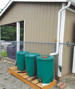 Rain Barrels - Farm Management