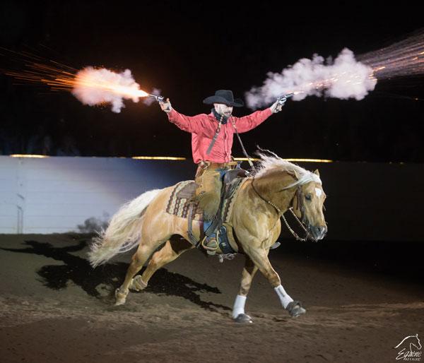 Fantasia at Equine Affaire Massachusetts