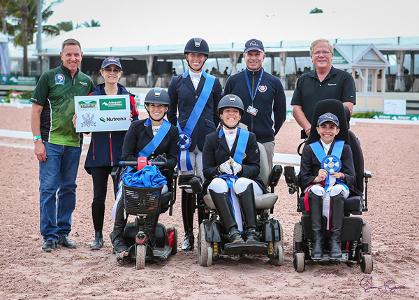 U.S. Para Dressage Team at the Adequan Global Equestrian Festival 1