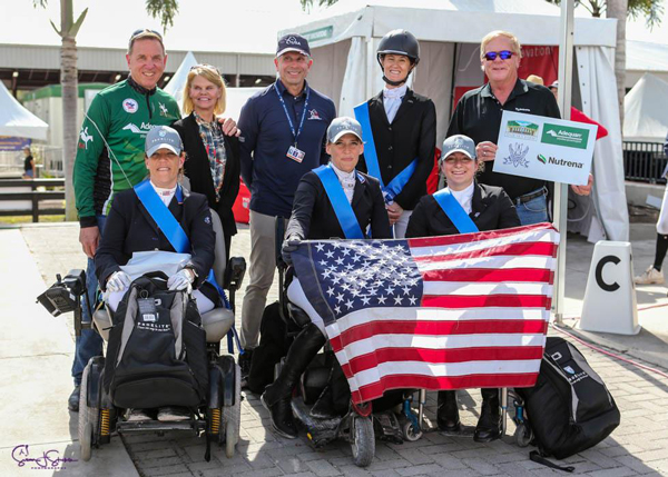 U.S. Para Dressage Team at the Adequan Global Equestrian Festival 3