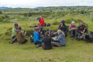 Iceland trip lunch break