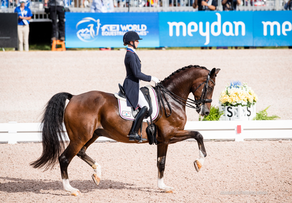 Laura Graves and Verdades Dressage World Cup Finals