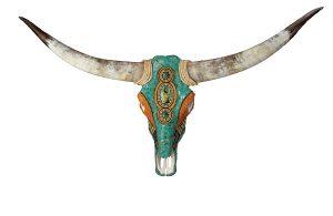Rene Gibson Steer Skulls