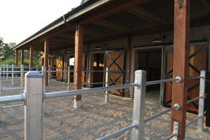 Stalls on Quinis Design Works Equestrian Property
