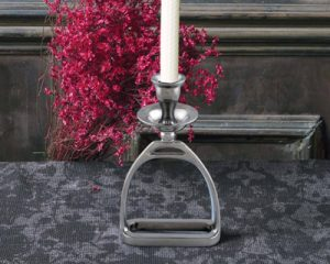 English Stirrup Candleholder