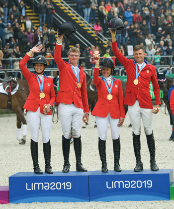 USA Team and Individual Bronze in Eventing