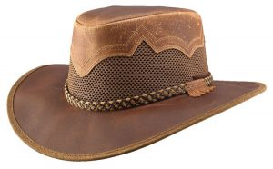 Sirocco Leather Hat